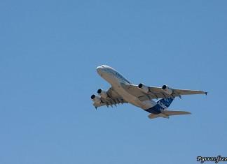 démonstration du légendaire Airbus A380