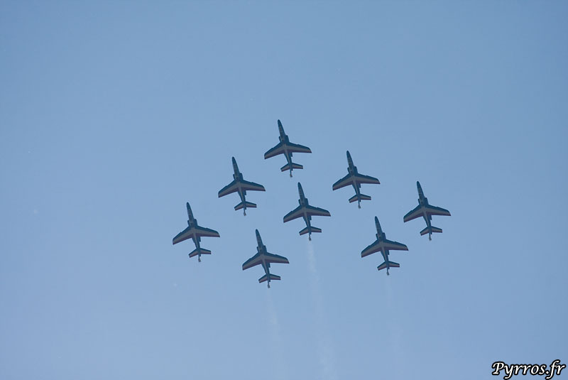 Patrouille de France (PAF) vol en diamant