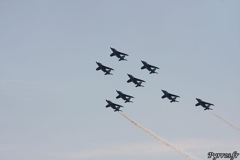 Patrouille de France (PAF) vol en canard