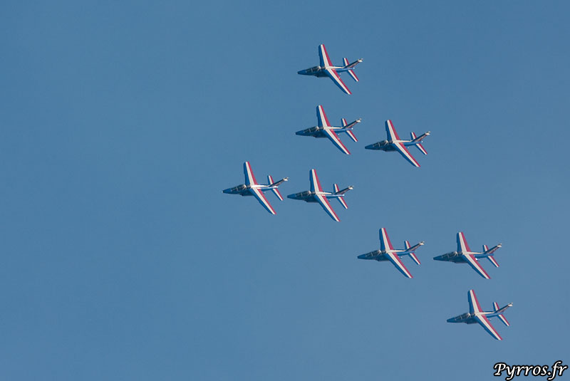 Patrouille de France (PAF) vol concorde