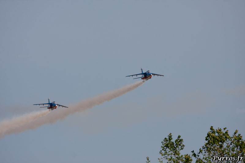 Patrouille de France (PAF) vol en duo