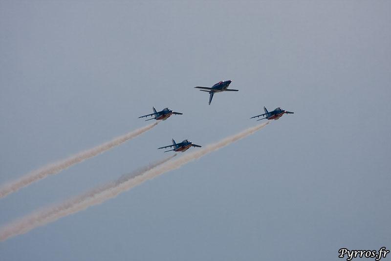 vol en formation Patrouille de France (PAF)
