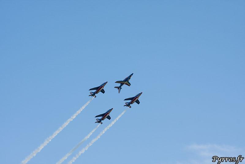 vol en formation, Patrouille de France (PAF)