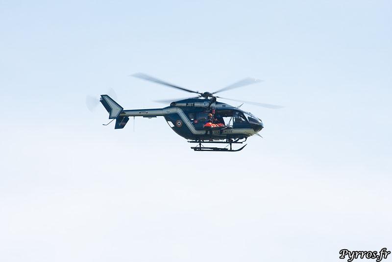 helicoptere ec145 de la gendarmerie