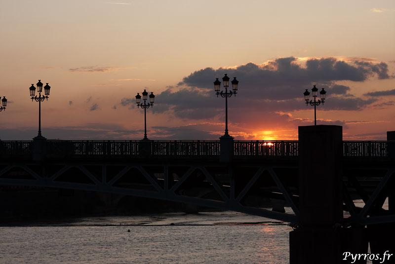 Pont Saint Pierre au couchant