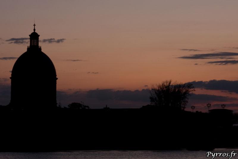 Dome de Lagrave au Couchant