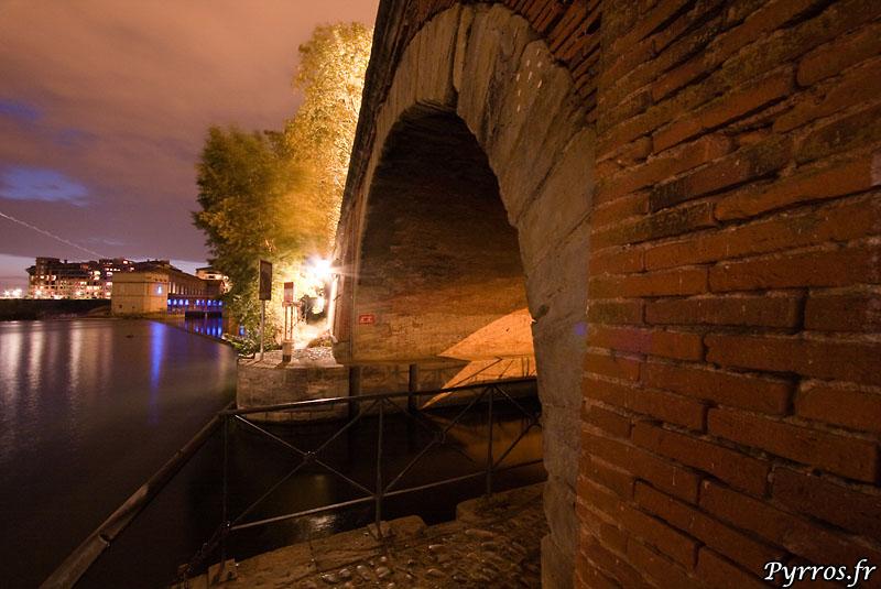 Canal de Brienne, jonction du canal et da la Garonne