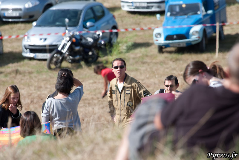 pilote de Cartouche Doré : Ltt Sébastien Berneyron (Berny : equipier gauche)