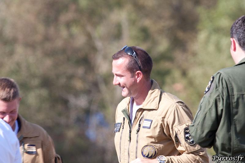 pilote de Cartouche Doré : Cne Bruno Lechartier (brutus : le leader)