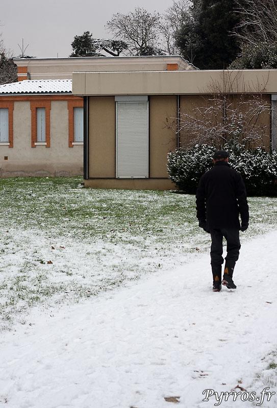 Marcher dans la neige un plaisir ?