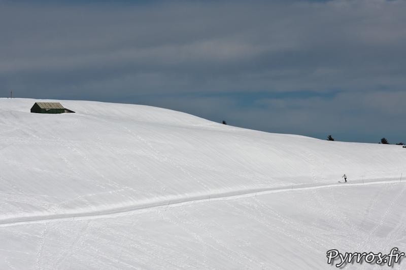 Faire du ski avec son matériel photo