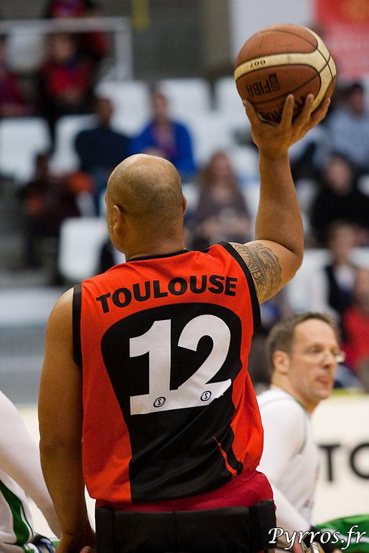 Euro Ligue 2 (handibasket) Tour préliminaire Toulouse IC vs RSC Frankfurt (Allemagne), Toulouse s'impose 66 à 59, passe