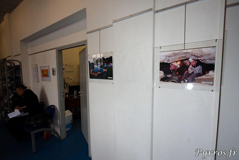 Exposition de photos à l'Unité Accueil et Inscription du service Enfance et Loisirs de la Ville de Toulouse à Sébastopol
