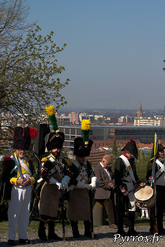 Commemoration du 10 avril 1814, bataille de Toulouse