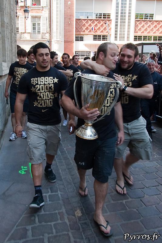 Stade Toulousain, Champion d'Europe pour la 4eme fois