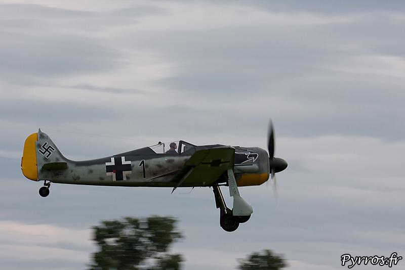 Focke-Wulf Fw-190A-8/N approche volets sortis