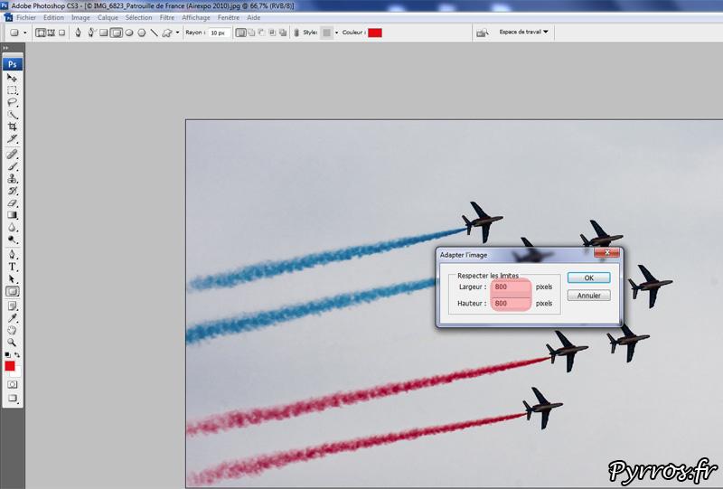 Optimiser ses photos avec photoshop : étape 2