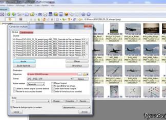 Compresser avec Xnview : étape 1