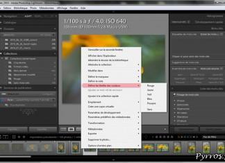 Le systeme de couleurs pour classer ses photos