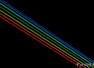 Global Rainbow installation laser par l'artiste Yvette Mattern et Laserfabrik, les 7 rayons laser