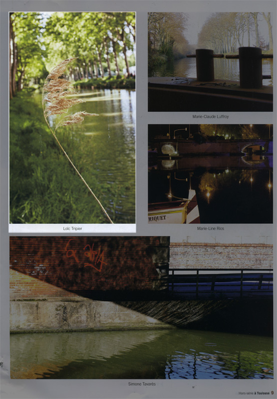 « à Toulouse – hors série canal du Midi »