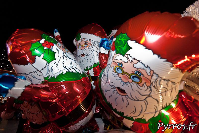 ces pères Noël n'avaient pas les rollers
