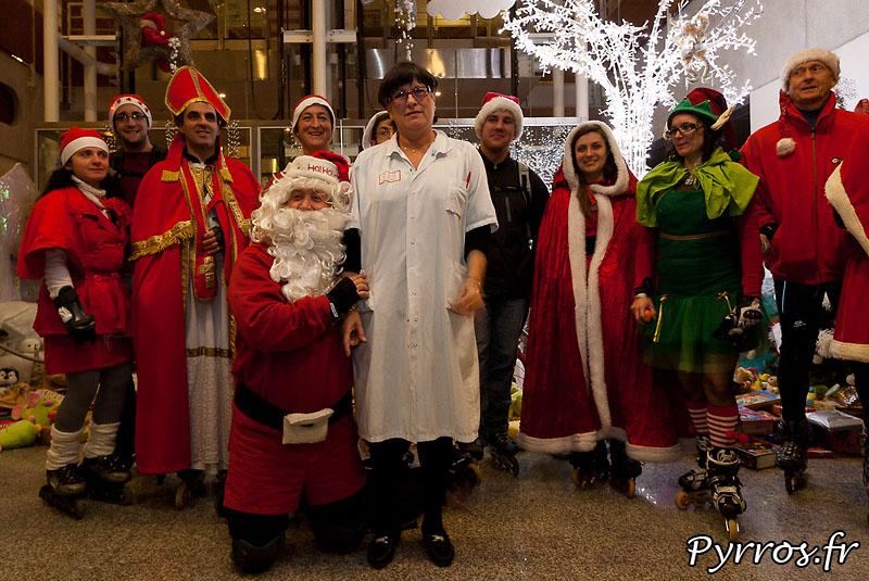 Le père Noël est, même pour les adultes, toujours impressionnant