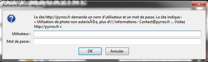 Cadre texte anti-hotlink avec PictPocket