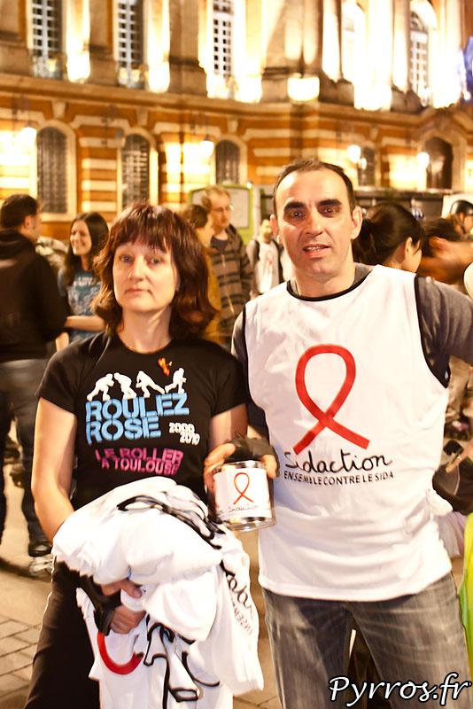 Roulez Rose s'associe au sidaction