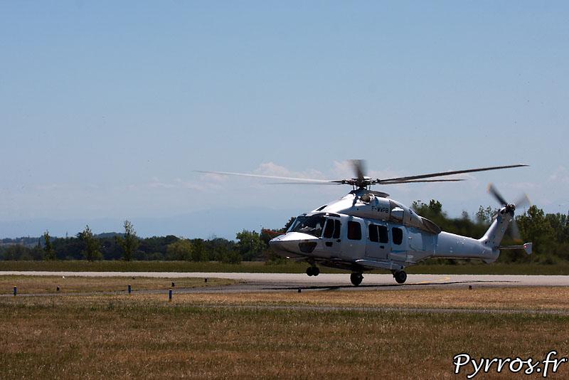 Eurocopter EC-175 (ou Z-15), atterrissage