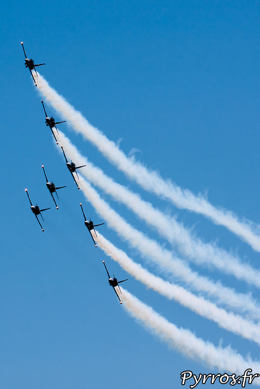 Breitling Jet Team, Formation B1