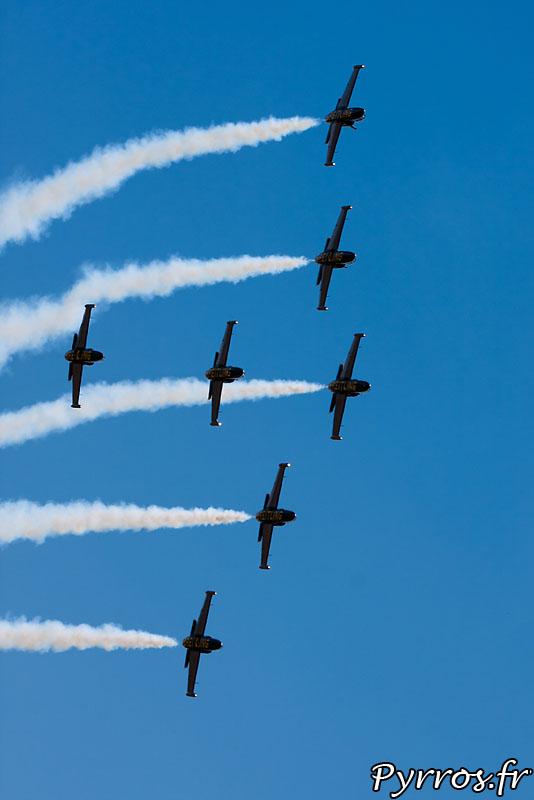 Breitling Jet Team, Formation B1 dans une barrique