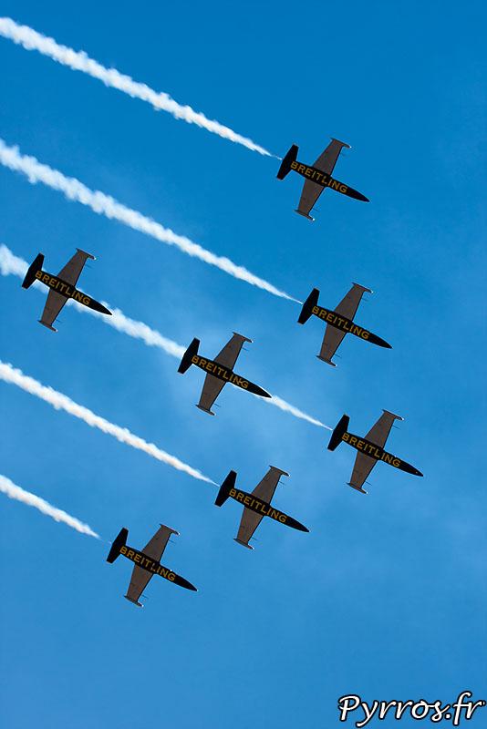 Breitling Jet Team, Formation B1 sortie de la barrique
