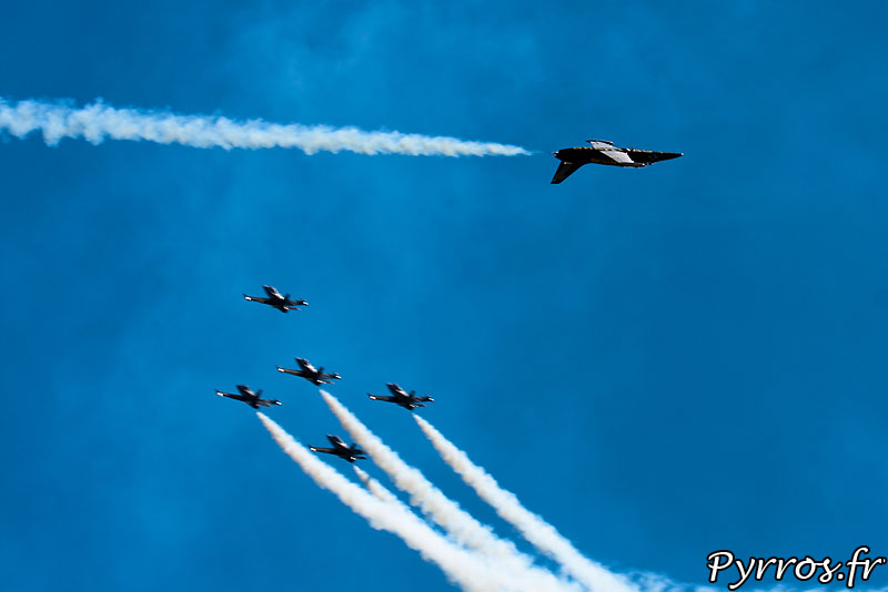 Breitling Jet Team, Solo Passage barrique