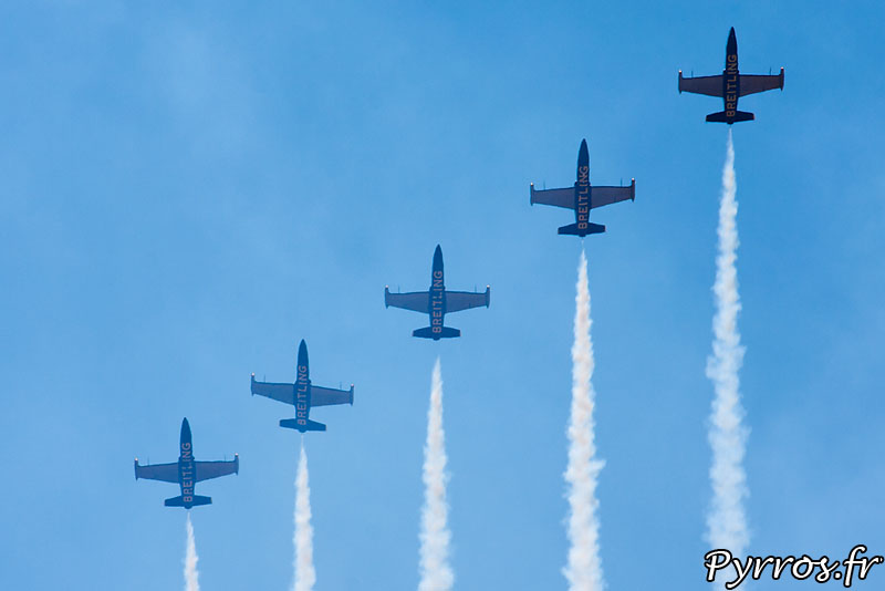 Breitling Jet Team, début de volute en Barrique