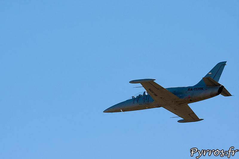 Aero L-39 Albatros, vol à plat