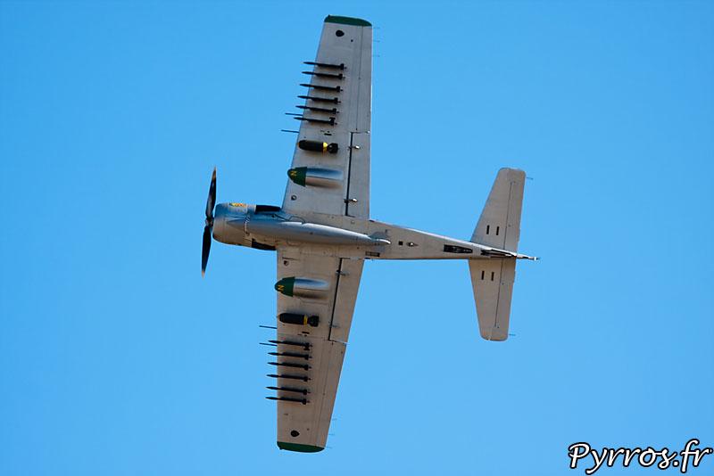 Skyraider vue de l'armement
