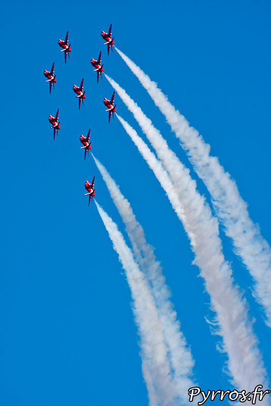Red Arrows, formation Apollo