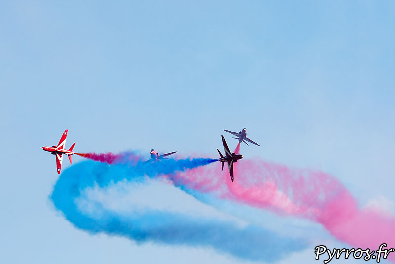 Red Arrows, Gypo Break (Éclatement Gypo)