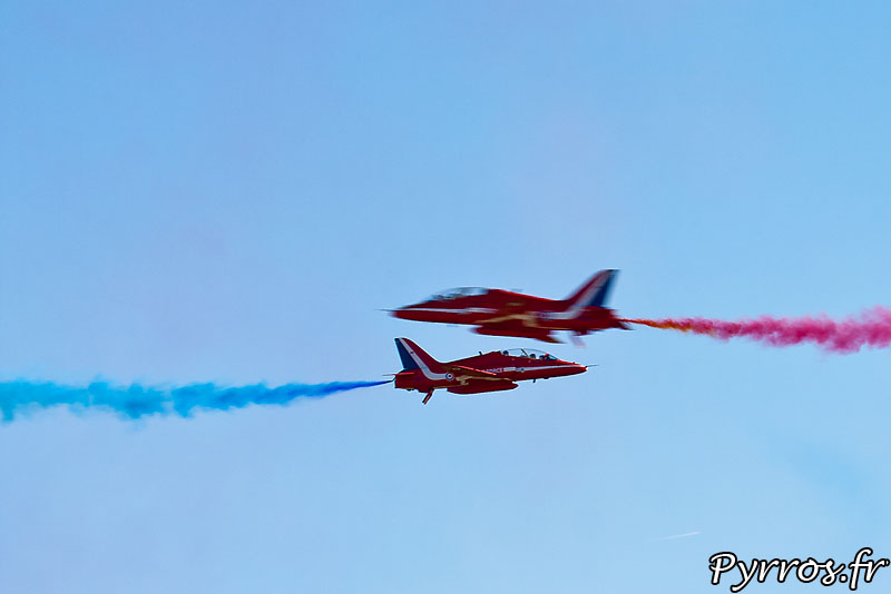 Red Arrows, percussion