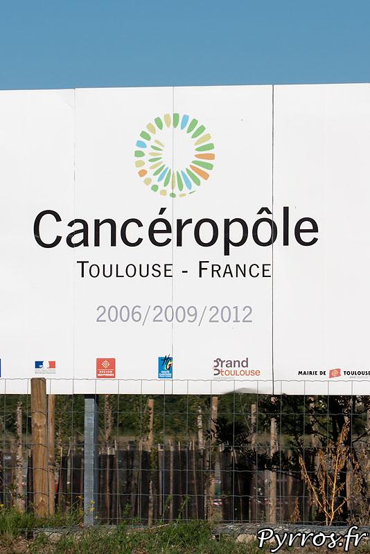 Le futur du site de l'usine AZF le Canceropole de Toulouse.