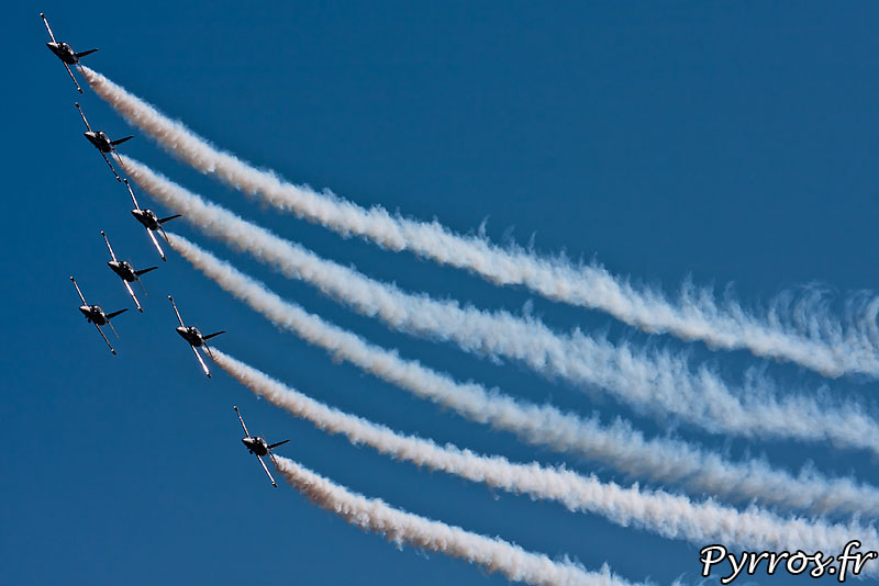 Breitling Jet Team en formation B1