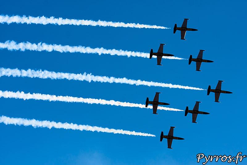 Breitling Jet Team en formation Avenger