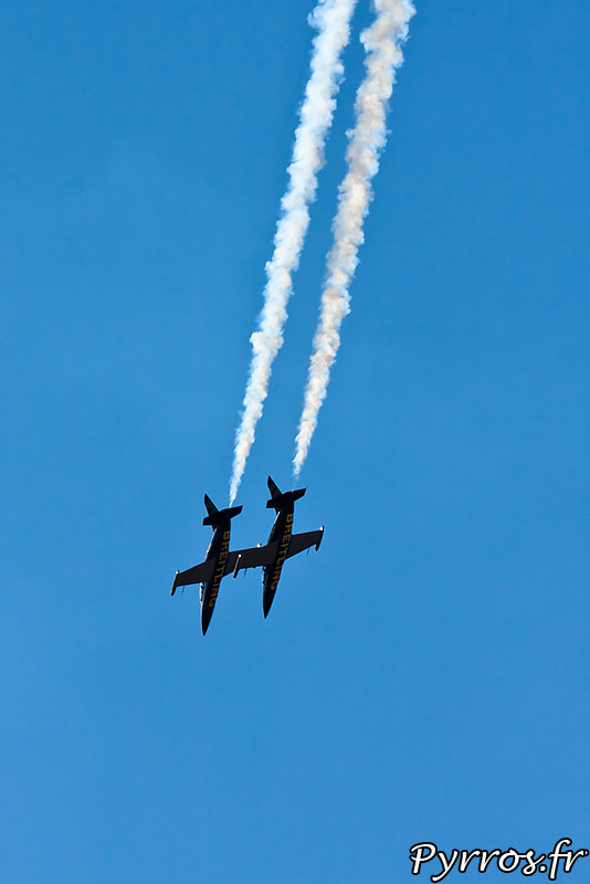 Breitling Jet Team vol en duo