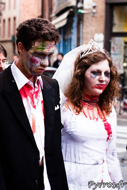 Mariage de zombies