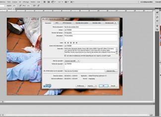 Lire et écrire les métadonnées dans photoshop