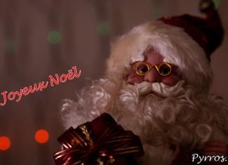 Le Père Noël vous souhaite un Joyeux Noël
