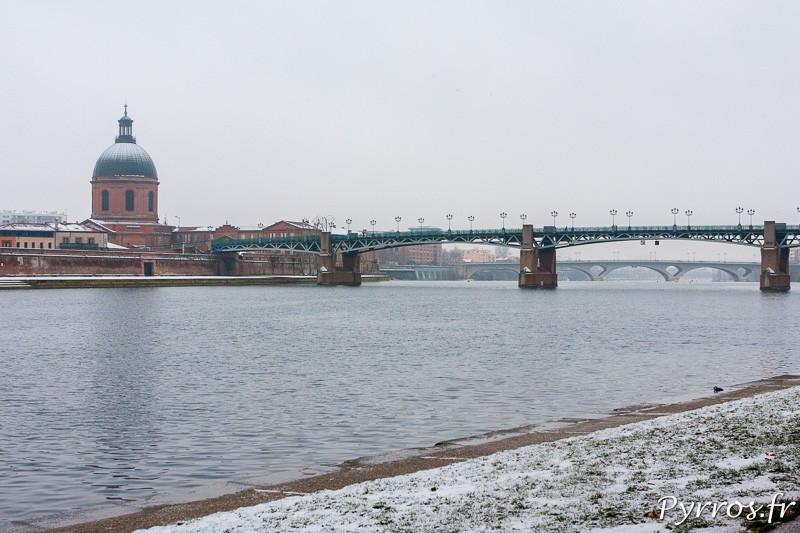 Pour la Saint Valentin il a encore neigé à Toulouse