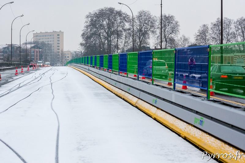 Les travaux du tram provoquent de nombreuses difficultés de circulations