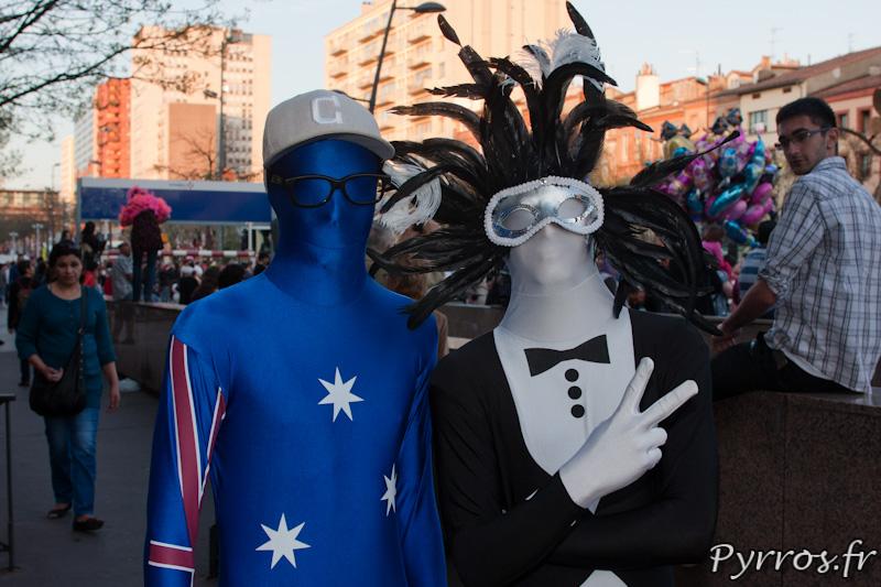 Morphsuits, Carnaval de Toulouse 2012